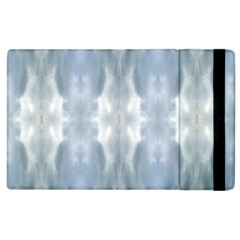Ice Crystals Abstract Pattern Apple Ipad 3/4 Flip Case by Costasonlineshop