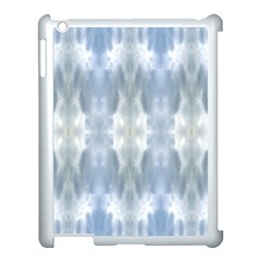 Ice Crystals Abstract Pattern Apple Ipad 3/4 Case (white) by Costasonlineshop