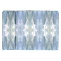 Ice Crystals Abstract Pattern Samsung Galaxy Tab 10 1  P7500 Flip Case by Costasonlineshop