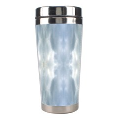Ice Crystals Abstract Pattern Stainless Steel Travel Tumblers by Costasonlineshop