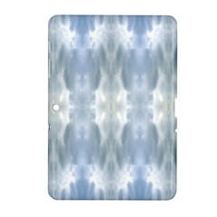 Ice Crystals Abstract Pattern Samsung Galaxy Tab 2 (10 1 ) P5100 Hardshell Case  by Costasonlineshop