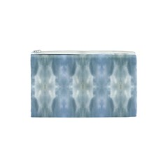 Ice Crystals Abstract Pattern Cosmetic Bag (xs) by Costasonlineshop