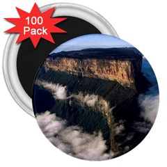 Mount Roraima 2 3  Magnets (100 Pack) by trendistuff