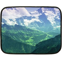 Laghi Di Fusine Double Sided Fleece Blanket (mini)  by trendistuff