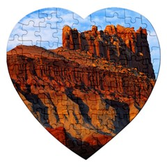 Grand Canyon 3 Jigsaw Puzzle (heart) by trendistuff