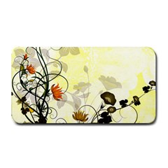 Wonderful Flowers With Leaves On Soft Background Medium Bar Mats by FantasyWorld7