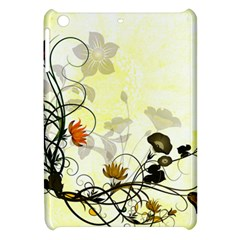 Wonderful Flowers With Leaves On Soft Background Apple Ipad Mini Hardshell Case by FantasyWorld7