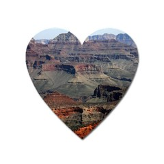 Grand Canyon 2 Heart Magnet by trendistuff