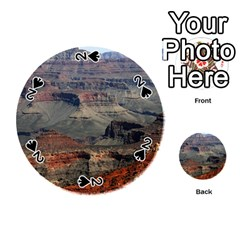 Grand Canyon 2 Playing Cards 54 (round)  by trendistuff