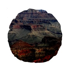 Grand Canyon 2 Standard 15  Premium Round Cushions by trendistuff
