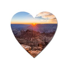 Grand Canyon 1 Heart Magnet by trendistuff