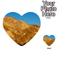 Death Valley Multi Purpose Cards (heart)  by trendistuff