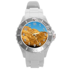Death Valley Round Plastic Sport Watch (l) by trendistuff