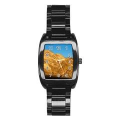 Death Valley Stainless Steel Barrel Watch by trendistuff