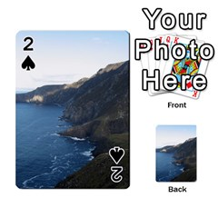 Croaghaun Cliffs Playing Cards 54 Designs  by trendistuff