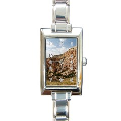 Cappadocia 2 Rectangle Italian Charm Watches by trendistuff