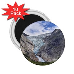 Briksdalsbreen 2 25  Magnets (10 Pack)  by trendistuff