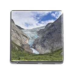 Briksdalsbreen Memory Card Reader (square) by trendistuff