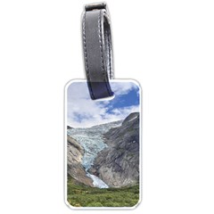 Briksdalsbreen Luggage Tags (one Side)  by trendistuff