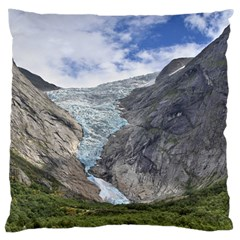 Briksdalsbreen Large Cushion Cases (two Sides)  by trendistuff