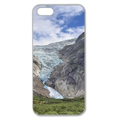 Briksdalsbreen Apple Seamless Iphone 5 Case (clear) by trendistuff
