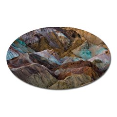 Artists Palette 2 Oval Magnet by trendistuff