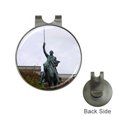 Washington Statue Hat Clips With Golf Markers by trendistuff