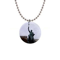 Washington Statue Button Necklaces by trendistuff