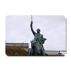 Washington Statue Small Doormat  by trendistuff