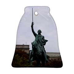 Washington Statue Bell Ornament (2 Sides) by trendistuff