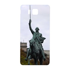 Washington Statue Samsung Galaxy Alpha Hardshell Back Case by trendistuff