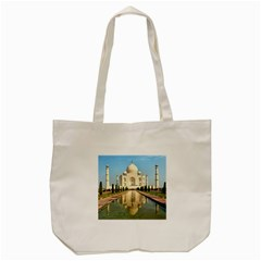 Taj Mahal Tote Bag (cream)  by trendistuff