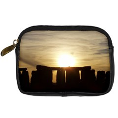Sunset Stonehenge Digital Camera Cases by trendistuff