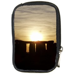 Sunset Stonehenge Compact Camera Cases by trendistuff