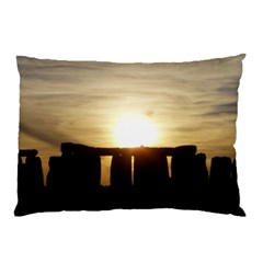 Sunset Stonehenge Pillow Cases (two Sides) by trendistuff