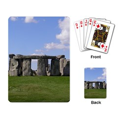 Stonehenge Playing Card by trendistuff