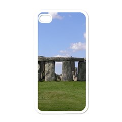 Stonehenge Apple Iphone 4 Case (white) by trendistuff