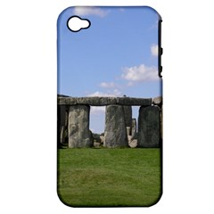 Stonehenge Apple Iphone 4/4s Hardshell Case (pc+silicone)