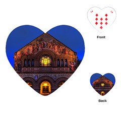 Stanford Chruch Playing Cards (heart)  by trendistuff