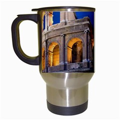 Rome Colosseum 2 Travel Mugs (white) by trendistuff