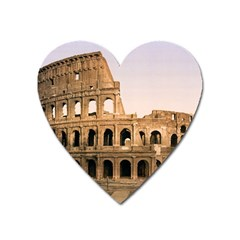 Rome Colosseum Heart Magnet by trendistuff