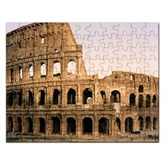 Rome Colosseum Rectangular Jigsaw Puzzl by trendistuff