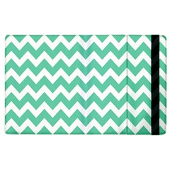 Chevron Pattern Gifts Apple Ipad 3/4 Flip Case by creativemom