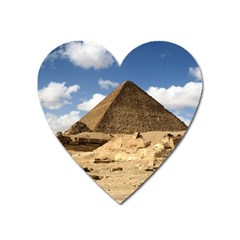 Pyramid Giza Heart Magnet by trendistuff