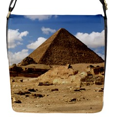 Pyramid Giza Flap Messenger Bag (s) by trendistuff