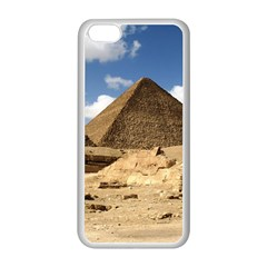 Pyramid Giza Apple Iphone 5c Seamless Case (white) by trendistuff