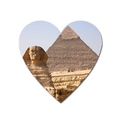 Pyramid Egypt Heart Magnet by trendistuff