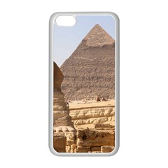 Pyramid Egypt Apple Iphone 5c Seamless Case (white) by trendistuff