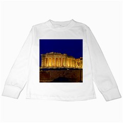 Parthenon 2 Kids Long Sleeve T Shirts by trendistuff