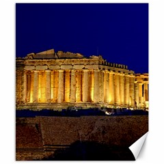Parthenon 2 Canvas 8  X 10  by trendistuff